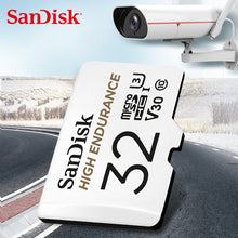 Load image into Gallery viewer, SanDisk Memory Card High Endurance Video Monitoring 32GB 64GB MicroSD Card SDHC/SDXC Class10 40MB/s TF Card for Video Monitoring