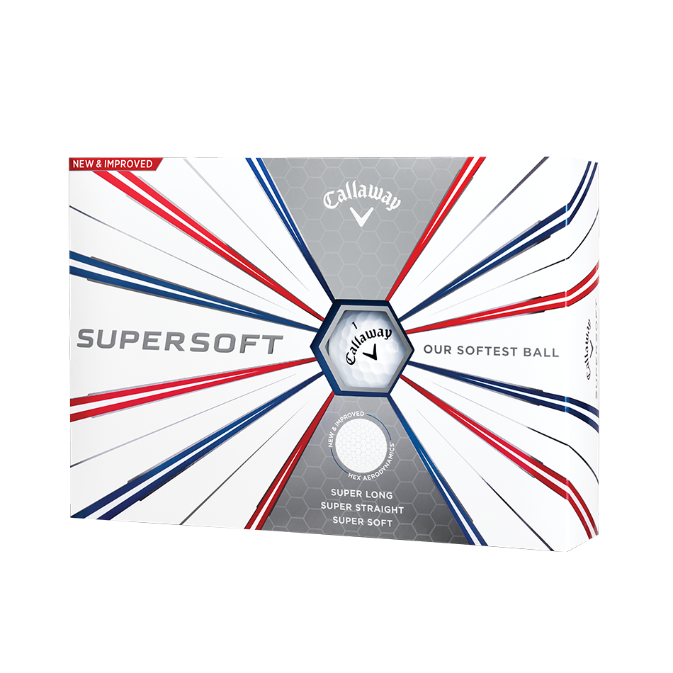 Callaway Supersoft 5 colores