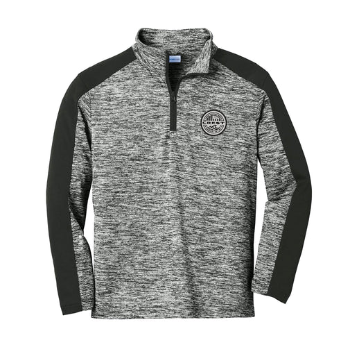 Crest American Circle Men's Electric Heather Quarter Zip