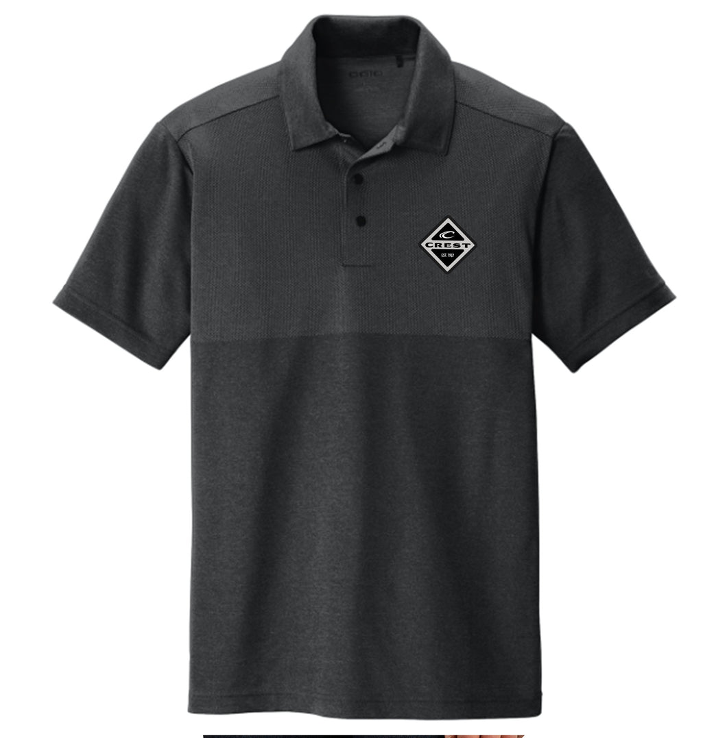 Crest Diamond Men's Polo