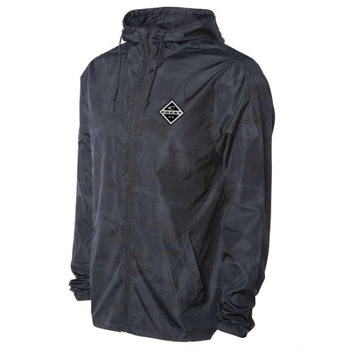 Crest Diamond Men's Windbreaker