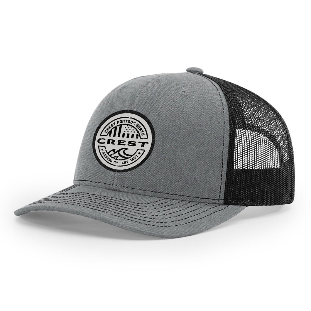 Crest American Circle Snapback Hat
