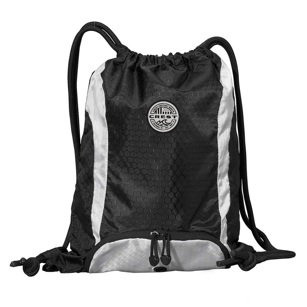 Crest American Circle Drawstring Backpack