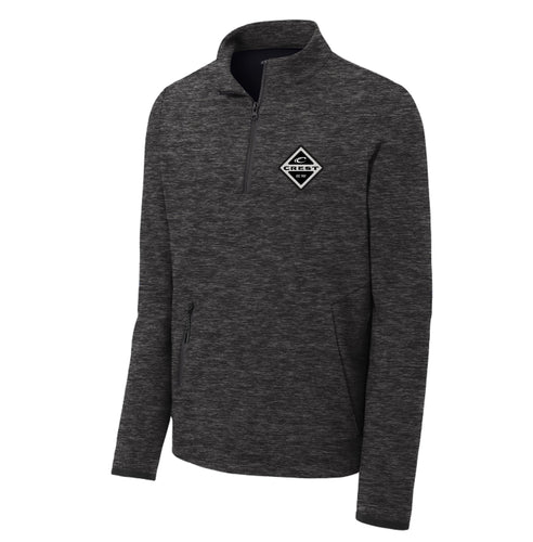Crest Diamond Men's Quarter Zip