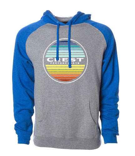 Crest Color Circle Men's Hoodie