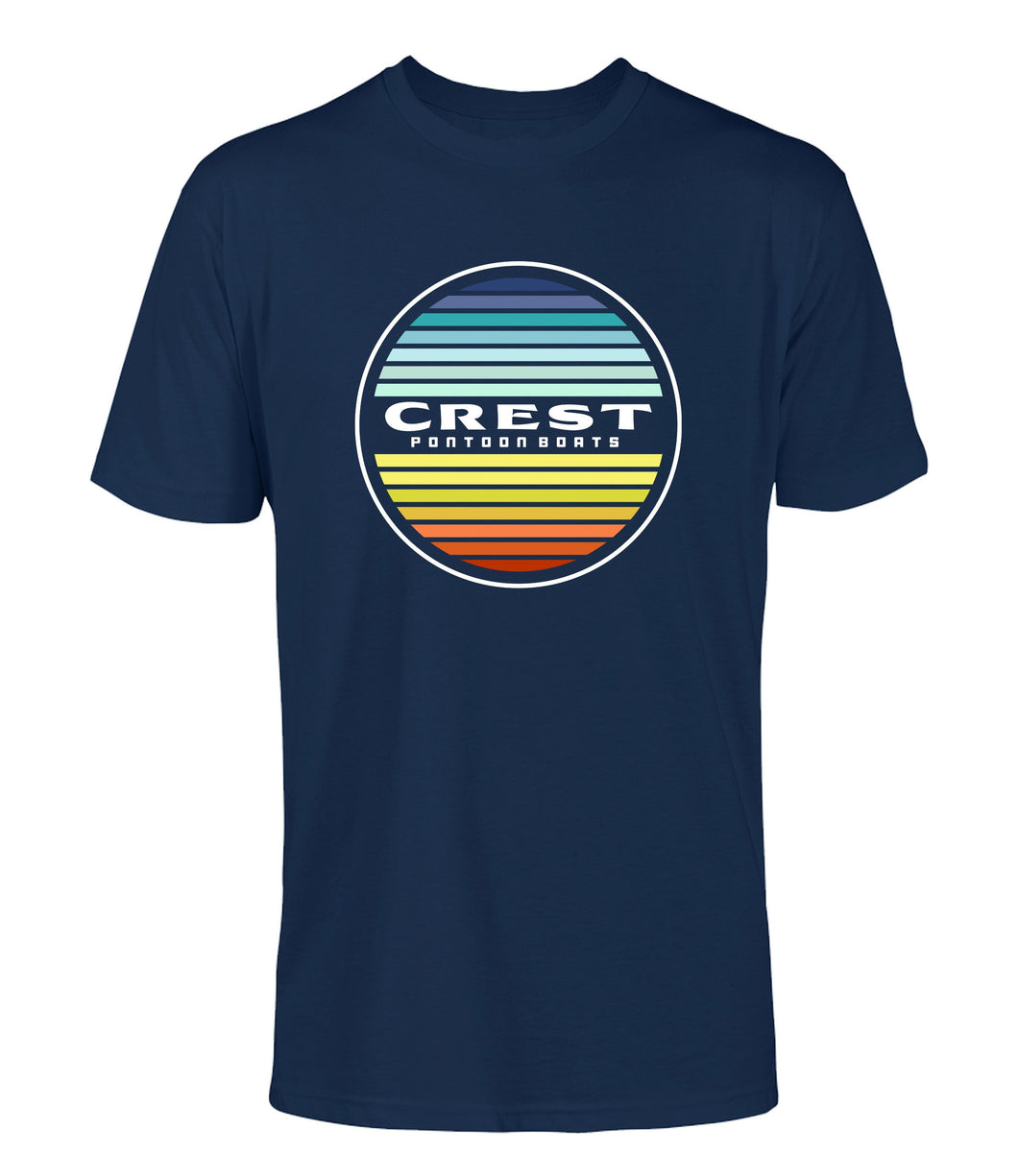 Crest Color Circle Unisex Tee