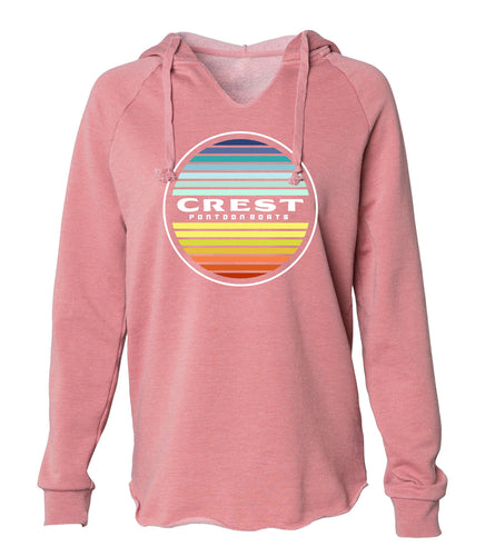 Crest Color Circle Women's Hoodie
