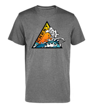 Load image into Gallery viewer, Crest Triangle Wave Unisex Tee