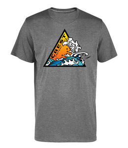 Crest Triangle Wave Unisex Tee