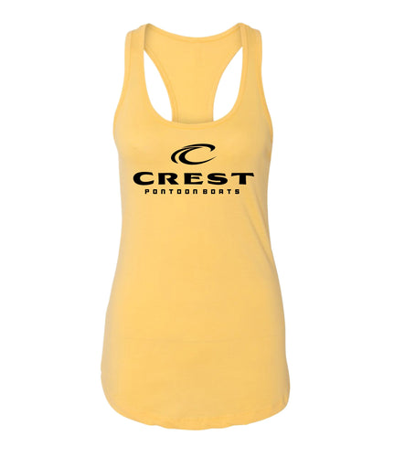 Crest Black Logo Women's Tank Top