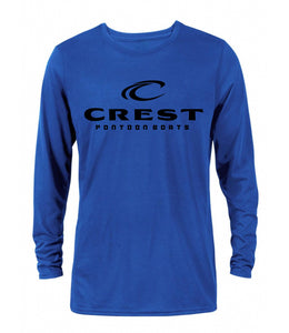 Crest Black logo Men's Long Sleeve T-Shirt