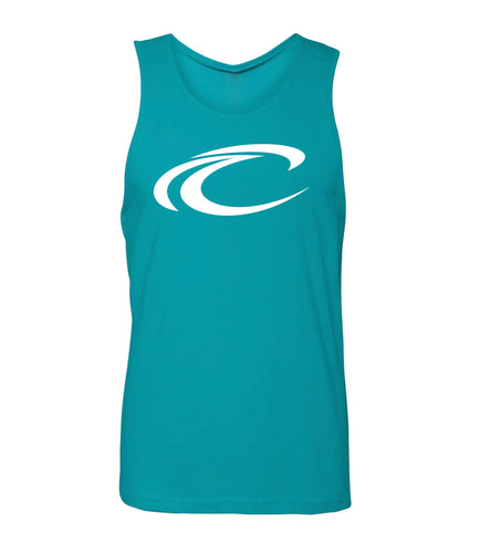 Crest Wave Logo Men's Tank