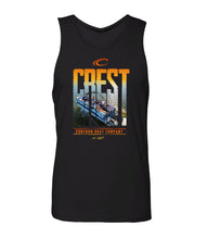 Load image into Gallery viewer, Crest Boats Men's Tank Top