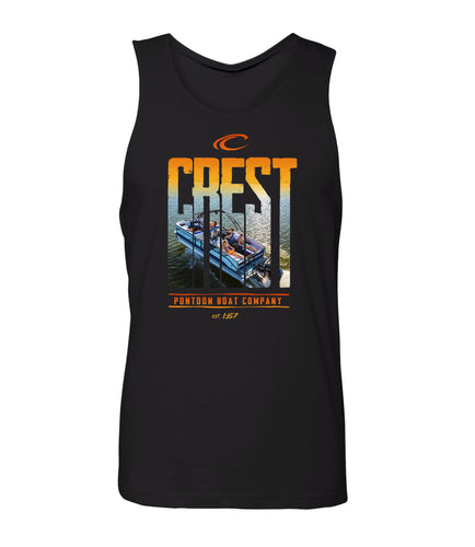 Crest Boats Men's Tank Top