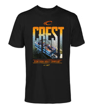 Load image into Gallery viewer, Crest Boats Unisex T-Shirt