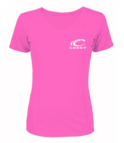 Crest Full Logo Women's Performance Tee