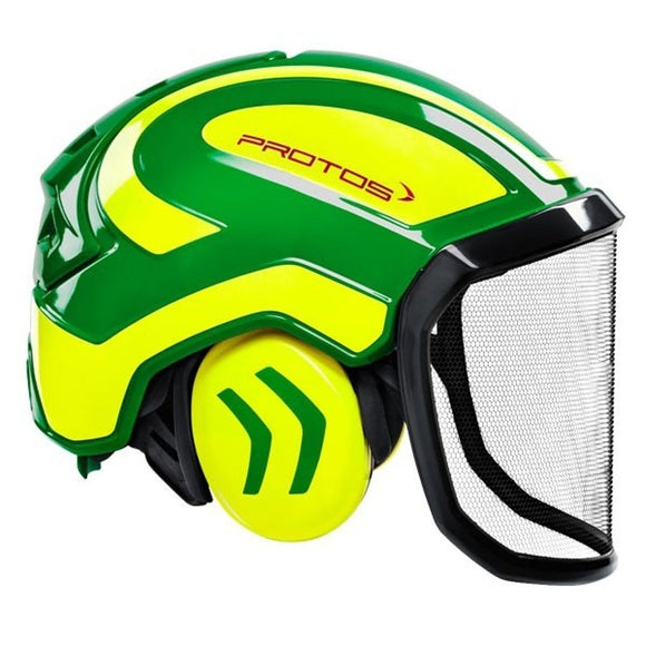 Casco Protos Integral Forest Verde-Giallo
