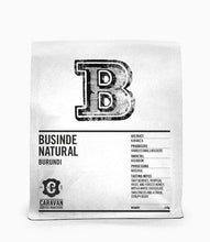 Load image into Gallery viewer, Caravan Coffee - Businde Natural 250g (Beans)