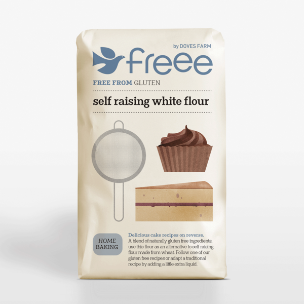 Essentials - Gluten Free Self Raising Flour   1Kg