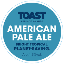 Load image into Gallery viewer, Toast Ale Refillable Growler - AMERICAN PALE ALE   (3.5 pints)