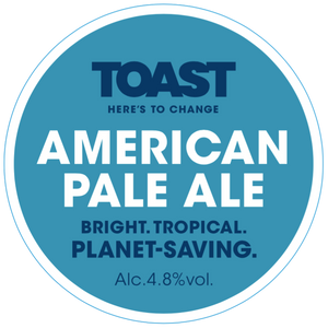 Toast Ale Refillable Growler - AMERICAN PALE ALE   (3.5 pints)