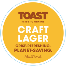 Load image into Gallery viewer, Toast Ale Refillable Growler - CRAFT LAGER  (3.5 pints)