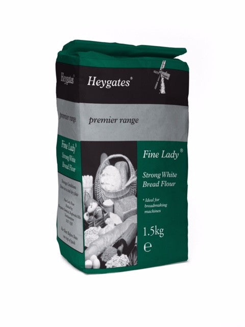 Essentials - Strong White Bread Flour 1.5KG