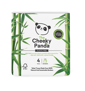 Cheeky Panda - Bamboo Toilet Roll 48 Roll Pack