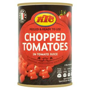 Essentials - Chopped Tomatoes 400g