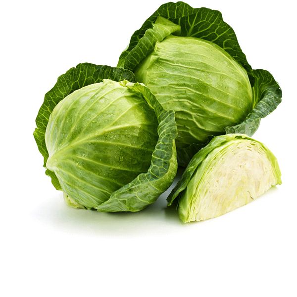 Organic Green Cabbage (1 Pc)
