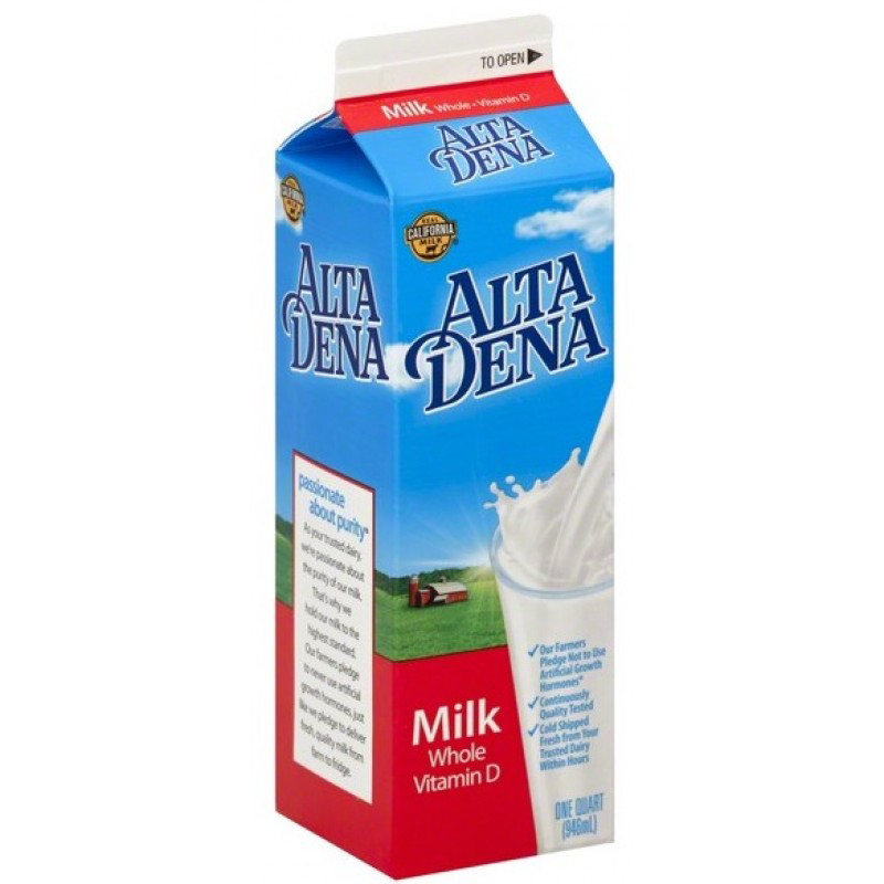 Alta Dena Whole Milk /1 Quart