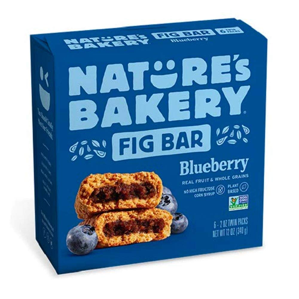 Nature's Bakery Blueberry Fig Bar (6 - 2 oz twin packs)