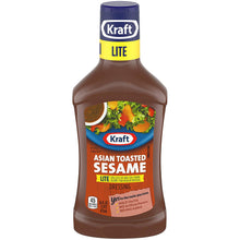 Load image into Gallery viewer, Kraft Asian Toasted Sesame Dressing (Lite) (16 oz)