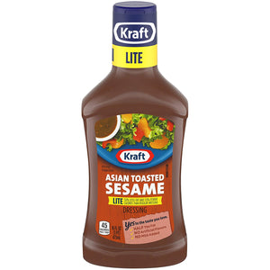 Kraft Asian Toasted Sesame Dressing (Lite) (16 oz)
