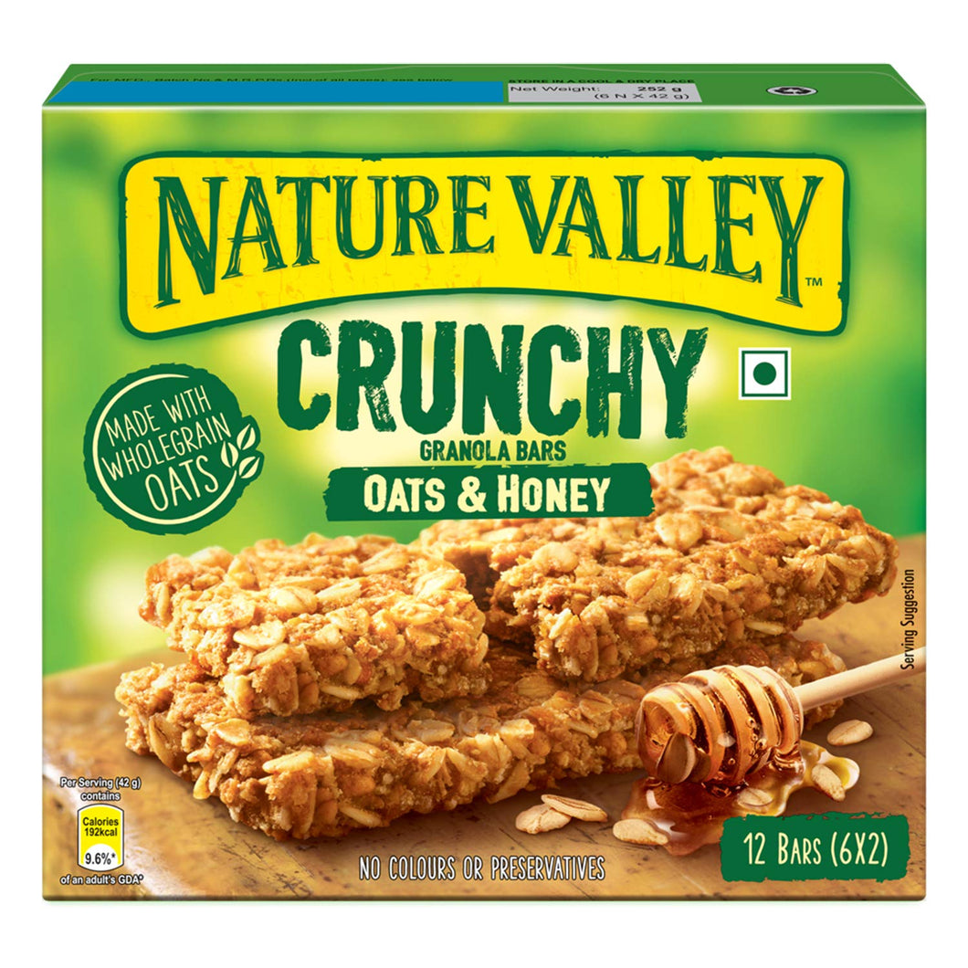 Nature Valley Oats N Honey Granola Bar (6 - 1.49 oz - 2 Bar Pouches)