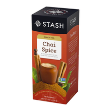 Load image into Gallery viewer, Chai Spice Black Tea / 1 box-30 count