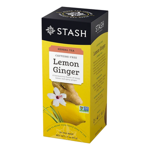 Lemon Ginger Herbal Tea / 1 box-30 count