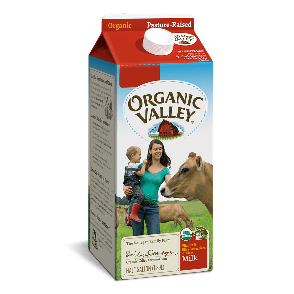 Organic Valley - Organic Milk / Half Gallon
