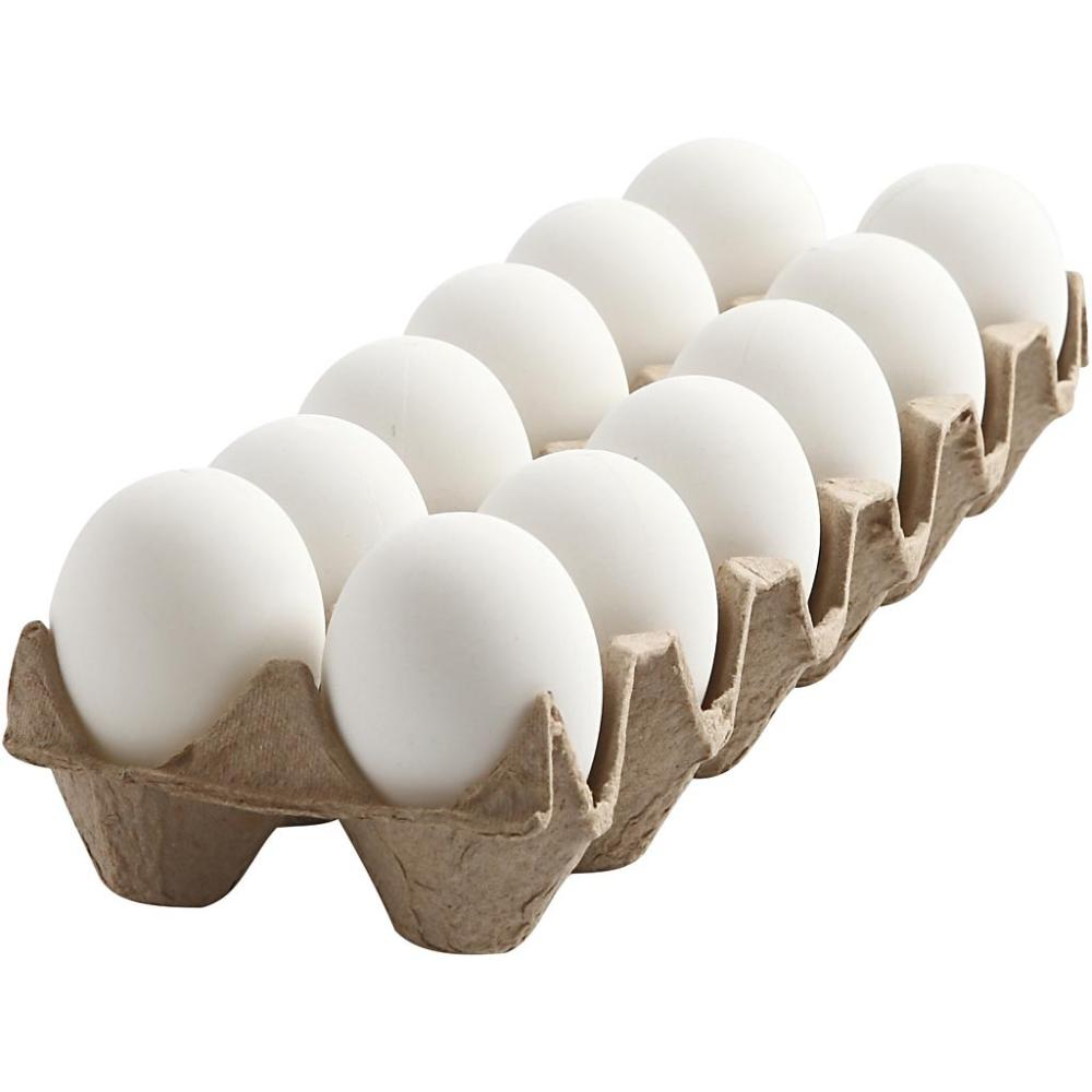 White Eggs (medium) / 12 eggs