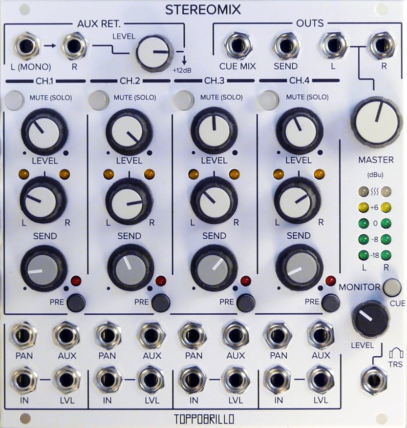 Stereomix 2 (Silver Panel). out of stock. email to pre-order.