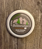 Solid Cologne | The Outdoorsman Scent