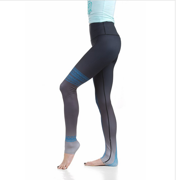 Soul Yoga Pant | One Whirl Yoga - Featuring Markings For Hand + Foot Placement