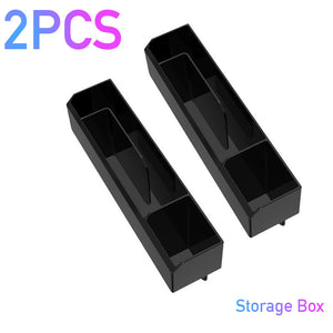 Car Organizer with Charger Cable Car Seat Gap Storage Box with Cable