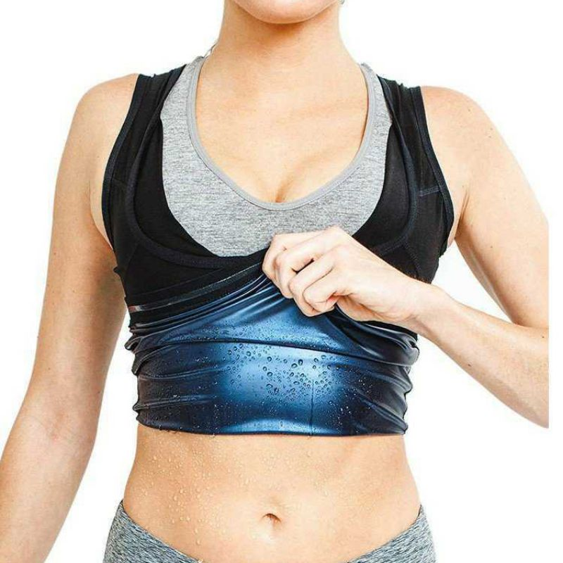 Women Fitness Sweat Vest