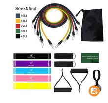 Load image into Gallery viewer, Fitness Insanity Resistance Bands Set - Vinsurf