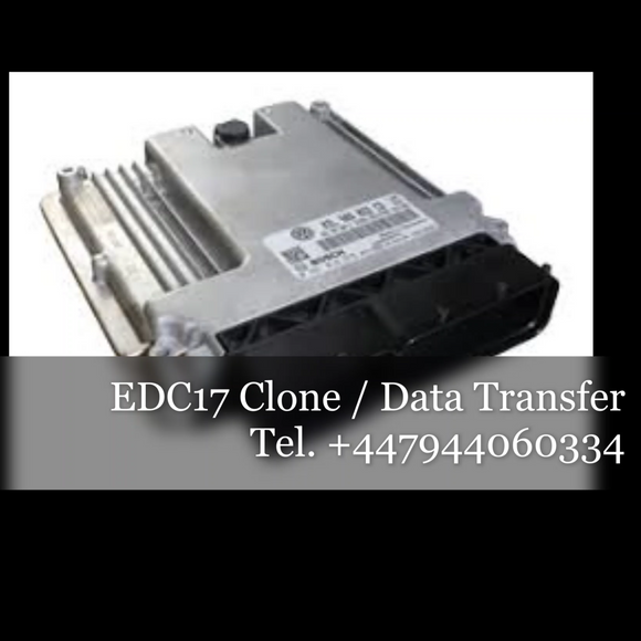 EDC17 Bosch ECU data transfer service / cloning service / code swap - Car Electronics UK