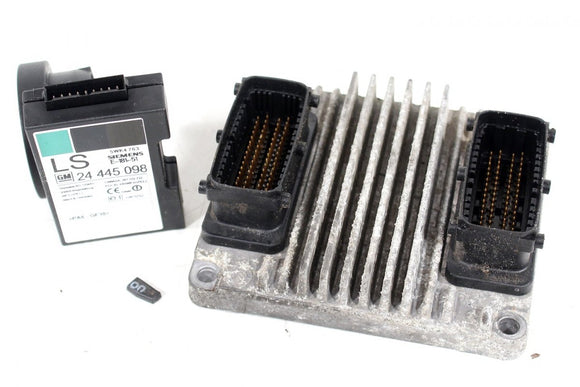 OPEL ASTRA VECTRA 1.6 16V Z16XE ECU KIT PROGRAMMED TO CHASIS 09353459 - Car Electronics UK