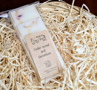Cedarwood and Geranium Essential Earth Snap Bar