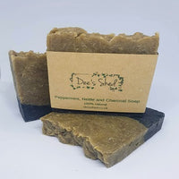Soap - Peppermint, Nettle and Charcoal