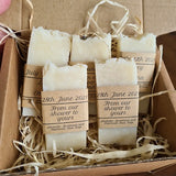 Wedding Favours - Lavender, Rose, Geranium and Patchouli Pink Clay Soap